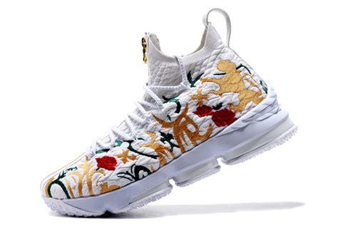 beautiful basketball shoes beautiful nike lebron 15 flowers plants s