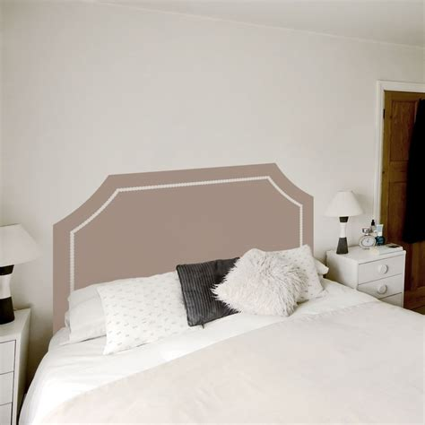headboard wall sticker headboard wall decals king headboard decal etsy with