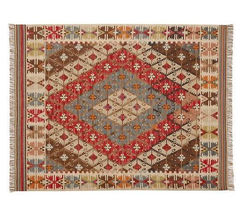 indoor outdoor rugs pottery barn rosario kilim recycled yarn indoor outdoor rug pottery