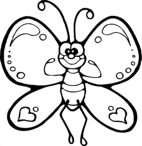9 butterfly coloring pages free premium templates