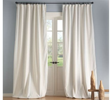 potery barn curtains riviera stripe drape pottery barn