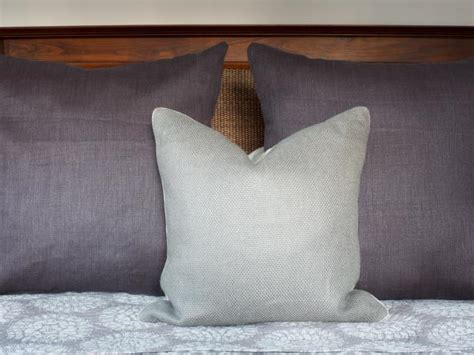 custom made bed pillows photo page hgtv