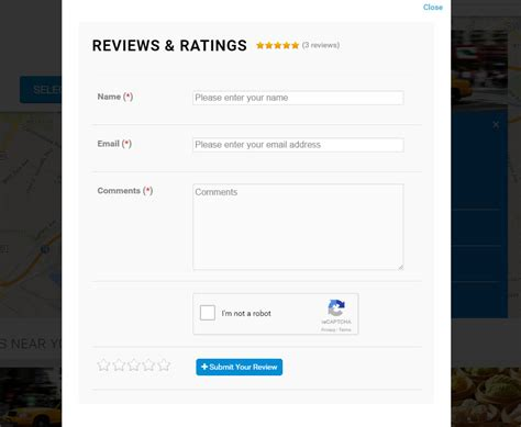 Add Review by Social Store Locator Reviews Ratings Add On By