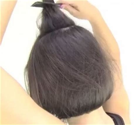 tutorial rambut wanita tutorial rambut wanita gaya simple untuk rambut pendek