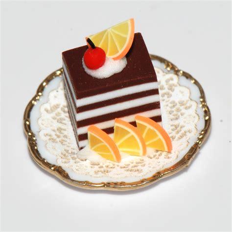 Halloween Home Decor decadent chocolate pastry w orange slices stewart