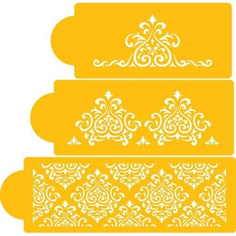 cake decorating templates printable printable stencil designs