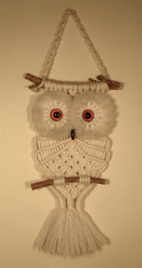 Free Macrame Pattern - it s my macram 233 owl