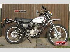 Honda XL 250 1975 Specs and Photos Kawasaki 250 Ccm Enduro