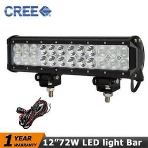 Led Light Bars For Atv 12 Quot Cree 72w Led Work Light Bar Atv 4wd Led Driving Headlight 12v 24v Beam Combo Cer