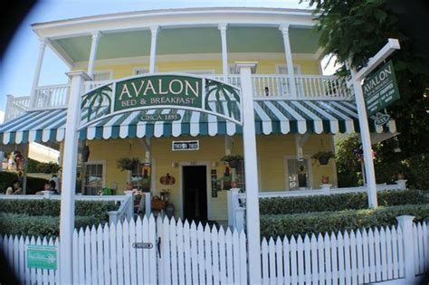 avalon bed and breakfast key west front porch for breakfast