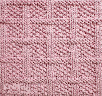 crochet and knit translation on pinterest crochet lattice with seed stitch square knitting pattern knit