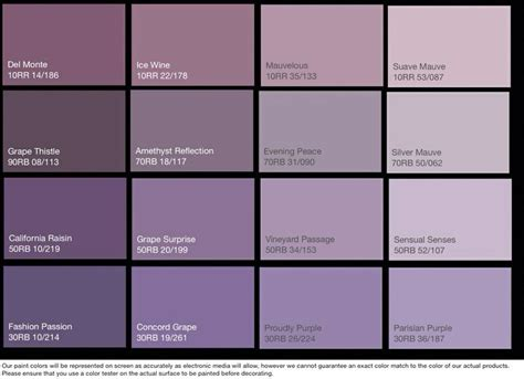 mauve color chart lilac paint search my home decor