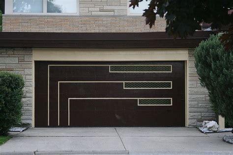Mid Century Garage Door Midcentury Style Modern Mid Century Modern Garage Doors