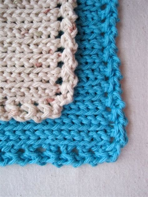 easy knit dishcloths mr micawber s recipe for happiness squiggledy dishcloth
