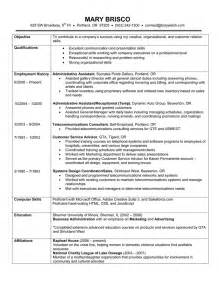 Jobs On Resume In What Order by Chronological Resume Example A Chronological Resume