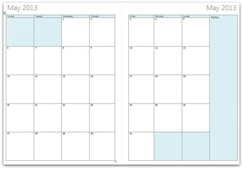 search results for free printable monthly planner pages