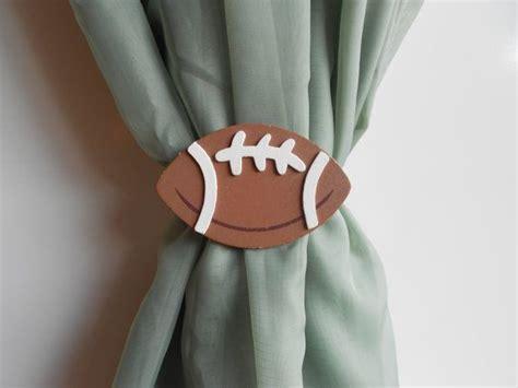 little boy curtains football curtain tie backs sports themed nursery baby