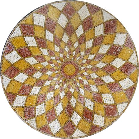 round mosaic pattern ideas how to use mosaic medallions in home decor mozaico blog