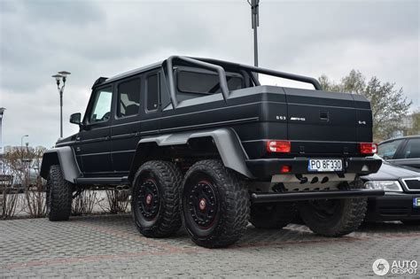 mercedes 6x6 mercedes g 63 amg 6x6 8 april 2017 autogespot
