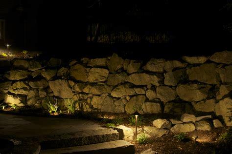 stone wall wash lighting rli electric