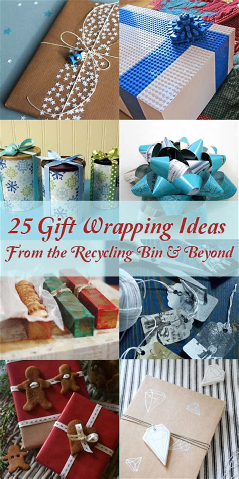 remodelaholic 25 upcycled and low cost gift wrapping ideas