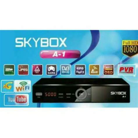 Receiver Parabola Skybox A1 A 1 Support Usb Wifi Usb Modem 2 jual beli receiver parabola skybox a1 a 1 support usb