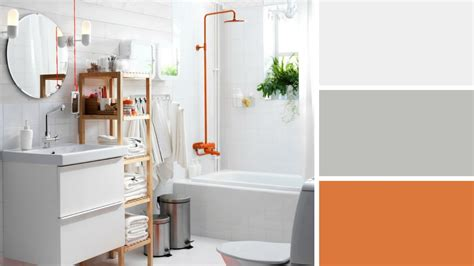 Formidable Accessoires Salle De Bain Couleur Orange #1: 08689754-photo-orange-couleur-tendance-salle-de-bains.jpg