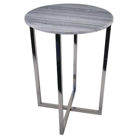 marble accent table threshold round marble top accent table target