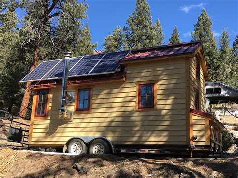 tumbleweed tiny house for sale solar tumbleweed tiny house swoon