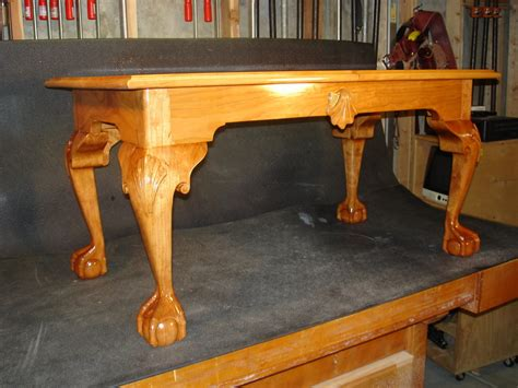 Cherry Ball And Claw Foot Coffee Table By Dustymark And Claw Coffee Table