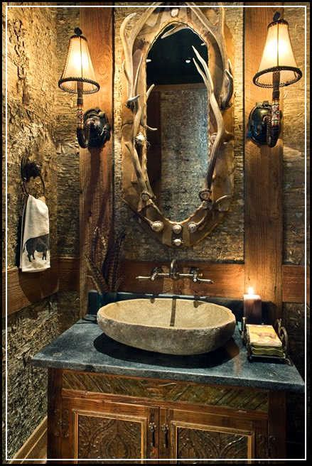 wildlife bathroom decor tips to enhance rustic bathroom decor ideas home design