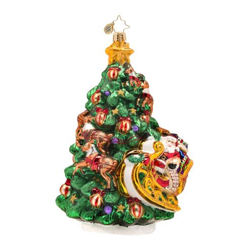 wrappin around ornament by christopher radko