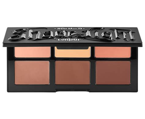 shade and light refillable palette kat von d shade light creme contour refillable palette