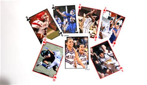 how to make your own deck of cards sports cards create a deck of custom photo