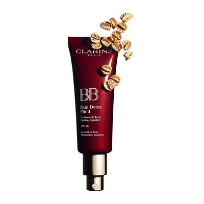 Clarins Bb Detox Fluid Review by Clarins Bb Skin Detox Fluid Spf25 45ml Feelunique
