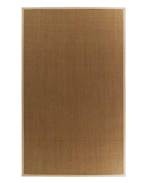 home depot rugs 5x8 lanart rug sisal 5x8 bound honey 37 the home depot canada