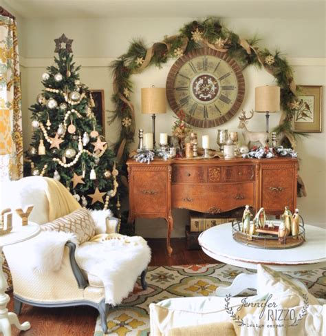 holiday decor traditional living room richmond by jennifer stoner interiors 8 christmas decor ideas