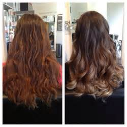 Balayage before and after love the hair pinterest