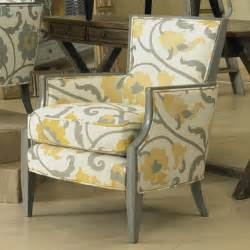 yellow and gray accent chair sam exposed wood chair citron accent