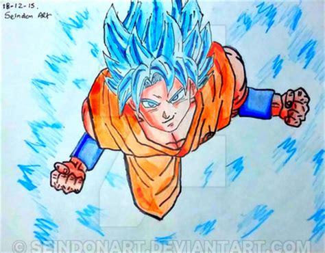 imagenes de goku jss dios dibujo de goku ssj dios ssj azul dragon ball super by