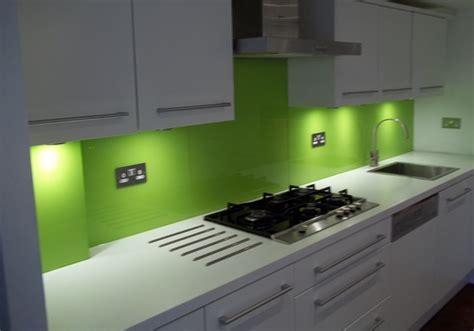 cheap kitchen splashback ideas lime green splashback it s time for lime