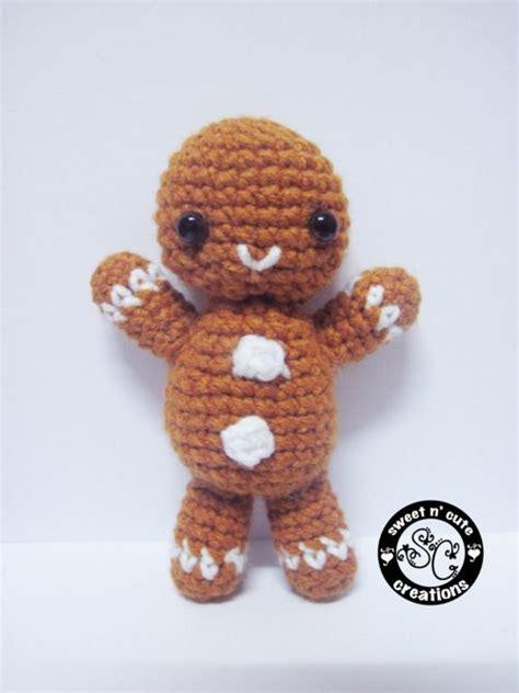 crochet pattern gingerbread man snappie the gingerbread man free crochet pattern
