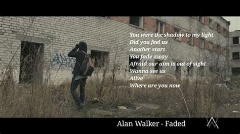 alan walker lyrics faded alan walker them lyrics pinterest