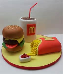 fast food birthday cake cake sarah poole cakesdecor