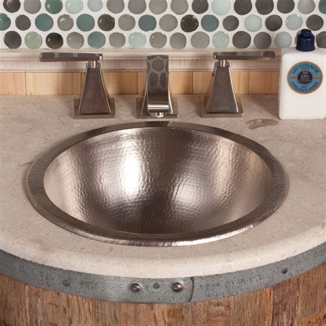small round copper bathroom sink paloma round copper bathroom sink native trails