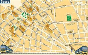 maps of cusco