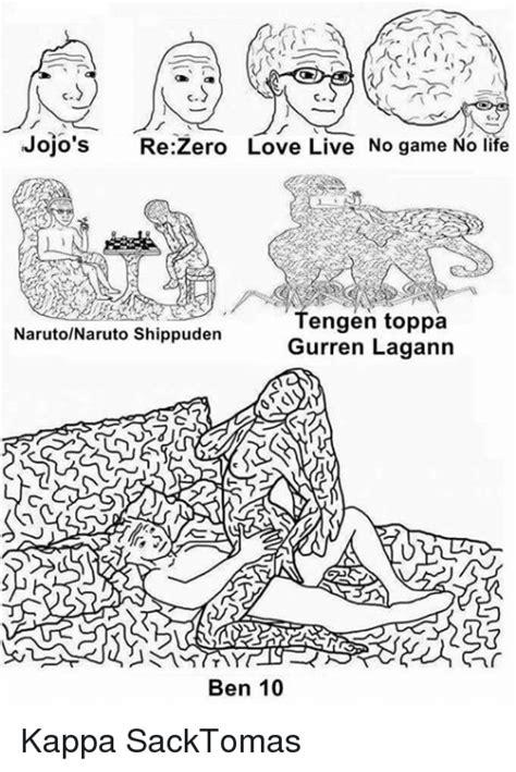 jojos   love   game  life tengen toppa