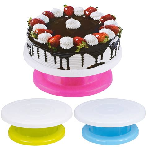 Cake Decorating Stand by 360 176 Cake Decorating Icing Rotating Turntable Plate Stand