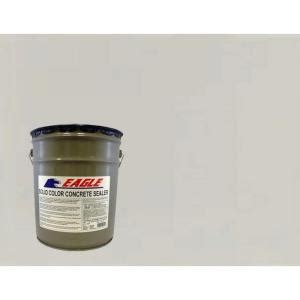 Concrete Sealer Home Depot by Eagle 5 Gal Fall Grass Solid Color Solvent Based Concrete