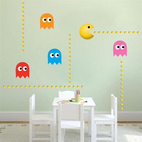 pac wall stickers modern pac wall decal wall decal murals